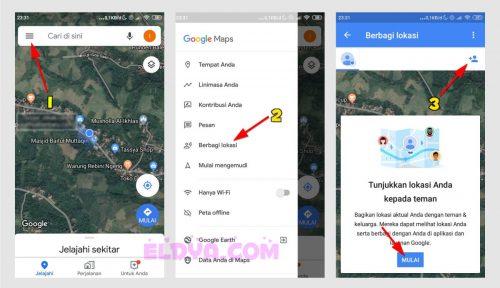 Cara melacak lokasi hp android