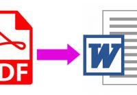 Cara Merubah PDF ke Microsoft Word
