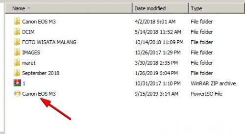 Cara Paling Mudah Membuka File yang Berformat ISO