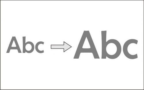Cara Merubah Ukuran Font di Template Iconic One