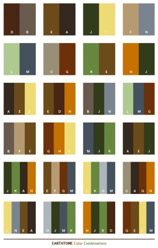 Kombinasi Warna Alam