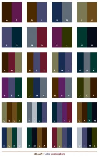 Kombinasi Warna elegan