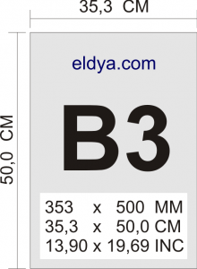 ukuran kertas b3